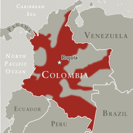 FARC Area of Operations