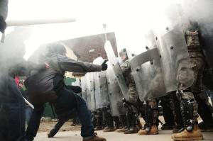 Georgia National Guard Riot Training