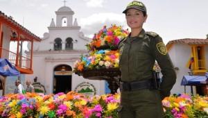 """Image Source: """"Policía Nacional garantiza la seguridad en la Feria de las Flores Medellin 2014. ESCER Escuela de Policía Carlos Eugenio Restrepo (14779731426)"""" by Policía Nacional de los colombianos -"""