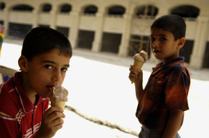 Children in Mosul. Image Source:DVIDSHUB