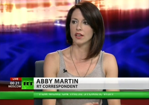 "Abby Martin ""Abby Martin RT correspondent"" by RT - RT Youtube channel,"
