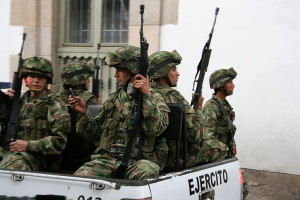 Military Police in Colombia. Image source: Pipeafcr