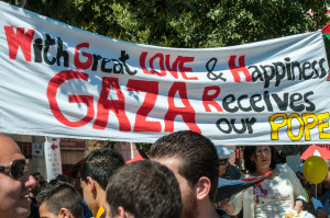 Gaza Pope Image Source: michael_swan, Flickr, Creative Commons.