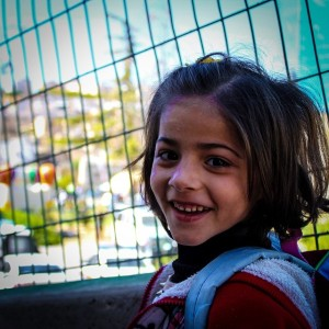 Palestinian girl out for a walk. Image Source: CPT Palestine, Flickr, Creative Commons