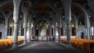 Armenian Church Surp Giragos in Diyarbakır, Eastern Turkey Image Source: Richard, flickr, Creative Commons