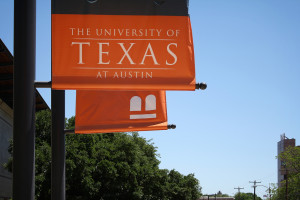 University of Texas banners. Image Source: Derek Key, Flickr, Creative Commons