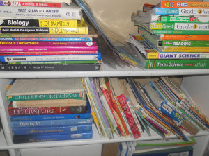 Home School Textbooks. Image Source: Lyn Lomasi, Flickr, Creative Commons