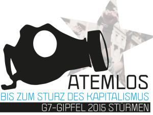 """Flyer encouraging protesting. Image Source: """"Call for protests g7 2015"""" by Indymedia - http://de.indymedia.org/node/3645. Licensed under CC BY-SA 3.0 via Wikimedia Commons - http://commons.wikimedia.org/wiki/File:Call_for_protests_g7_2015.jpg#/media/File:Call_for_protests_g7_2015.jpg"""