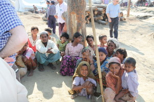 Displaced Rohingya. Image Source: Foreign and Commonwealth Office