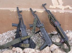 3 AKs. Image Source: IDF