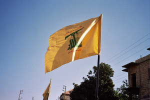 Hezbollah flag Image Source: upyernoz, Flickr, Creative Commons