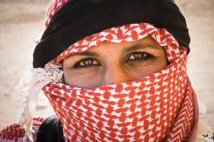 Bedouin Woman Image Source: Marc Veraart, Flickr, Creative Commons