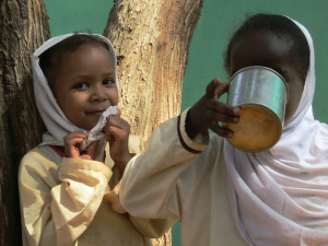 Sudanese children. Image Source: David Stanley, Flickr, Creative Commons