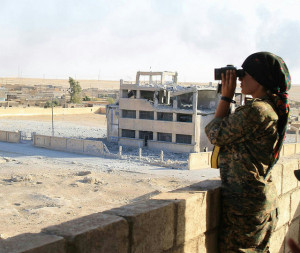 Image Source: ree kurdistan, Flickr, Creative Commons Kurdish YPG Fighter YPJ