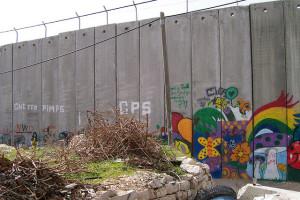 """Image Source: nina loves israel, Flickr, Creative Commons die """"Mauer"""" oder der """"Schutzwall"""" in Beit Jala"""