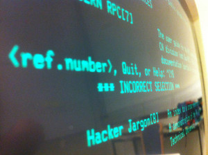Image Source: Jeremy Keith, Flickr, Creative Commons Hacker Jargon