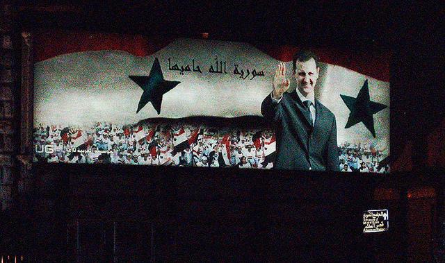 Image Source: DAVID HOLT, Flickr, Creative Commons Syria 2007 008 Damascus Bashar al-Assad