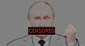 Image Censor: Democracy Chronicles, Flickr, Creative Commons putin-censored