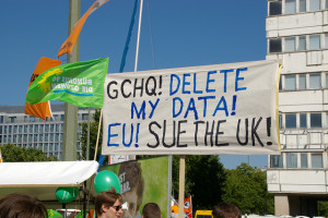 Image Source: Frerk Meyer, Flickr, Creative Commons GCHQ ! Delete my data!