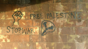 "Image Source: Denis Bocquet, Flickr, Creative Commons ""Free Palestine Stop War"" Strasbourg 2015"
