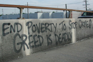 Image Source: Bart Everson, Flickr, Creative Commons End Poverty to Stop Crime