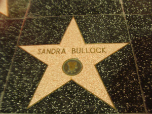 Image Source: Irfan Shaikh, Flickr, Creative Commons Walk of Fame: Sandra Bullock
