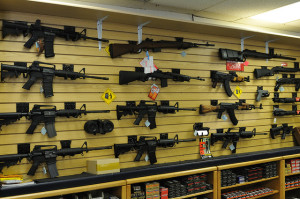 Image Source: Michael Saechang ,Flickr, Creative Commons Gun Wall