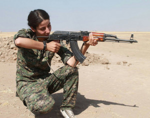Image Source: Kurdishstruggle, Flickr, Creative Commons Kurdish YPG Fighter