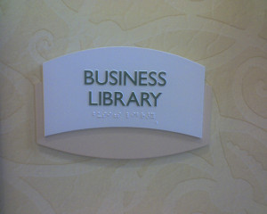 Image Source: John Blyberg, Flickr, Creative Commons Business library @ the Mariott