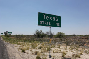 Image Source: Nicolas Henderson, Flickr, Creative Commons Texas State Line