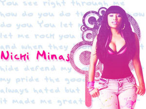 Image Source: torieewearsprada, Flickr, Creative Commons Nicki Minaj