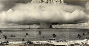 Image Source: James Vaughan, Flickr, Creative Commons 1946 ... Baker Shot- Bikini Atoll 'Operation-Crossroads