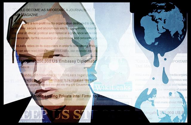 Image Source: Surian Soosay, Flickr, Creative Commons WikiLeaks Julian Assange