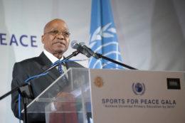 South African President Zuma. Public Domain, via Wikimedia Commons
