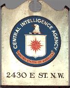 Original Sign for CIA, Public Domain, Wikimedia Commons
