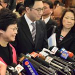 http://www.voacantonese.com/a/hk-ce-election-carrie-lam-submit-nomination-form-face-protest-again/3743220.html, Public Domain, https://commons.wikimedia.org/w/index.php?curid=56688738